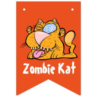 Alberne kat-Flaggen-Fahne des Monsters der Zombie Wimpelketten