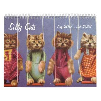 Alberne Katzen und Kätzchen - August 2017 bis Juli Wandkalender