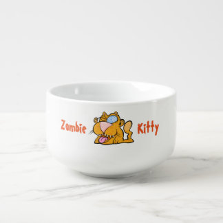 Alberne kitty-Suppen-Tasse des Monsters der Zombie Große Suppentasse
