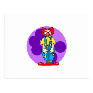 Alberner Clown Postkarte