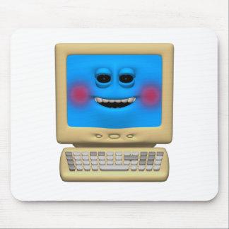 alberner errötender lächelnder Computer Mauspad