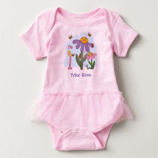 Alberner Garten-1. Geburtstag Baby Strampler