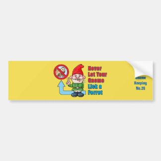 Alberner Gnome und Frettchen Autoaufkleber