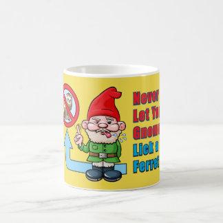 Alberner Gnome und Frettchen Kaffeetasse