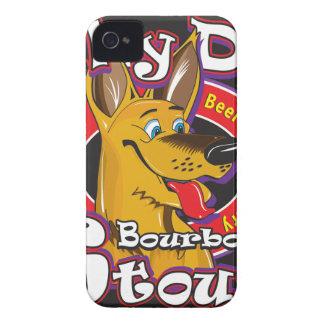 Alberner Hundebourbon-Stout iPhone 4 Etuis