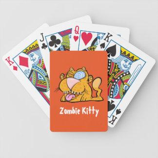 Alberner kitty-Spielkarten des Monsters der Zombie Bicycle Spielkarten
