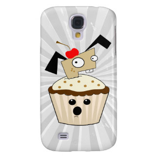 alberner kleiner Welpenhund in kleiner Kuchen kawa Galaxy S4 Hülle
