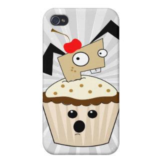 alberner kleiner Welpenhund in kleiner Kuchen kawa iPhone 4/4S Hülle
