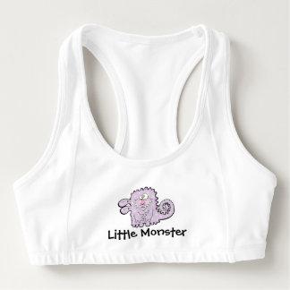 Alberner lila der Sport-BH der Monster-Frauen