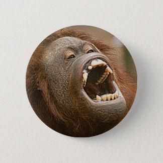 alberner Orang-Utan Runder Button 5,1 Cm