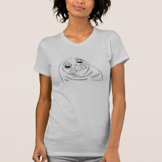 """Alberner u. süßer """"ungeschicktes Siegel"""" Meme T - T-Shirt"""