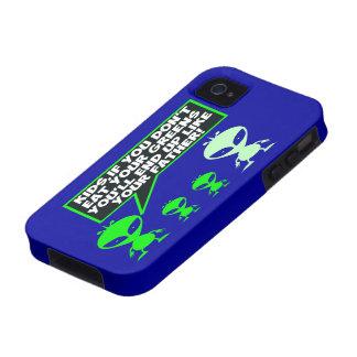 Alberner vegetarischer Witz Case-Mate iPhone 4 Case