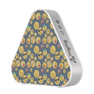 Albernes Emoji Grau-Muster Bluetooth Lautsprecher
