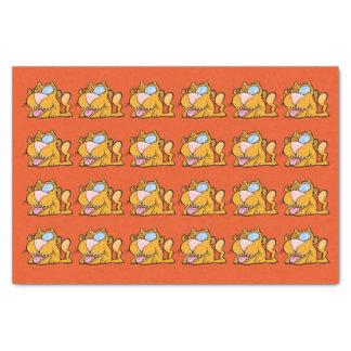 Albernes kat-Seidenpapier des Monsters der Zombie Seidenpapier