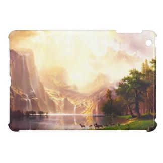 Albert Bierstadt unter der Sierra Nevada iPad Mini Hülle
