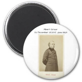Albert Grisar Runder Magnet 5,7 Cm