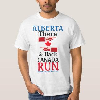 Alberta dort u. hinterer Kanada-Behälter T-Shirt