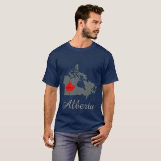 Alberta fertigen Mutterschaftskanada-Provinzgrau T-Shirt