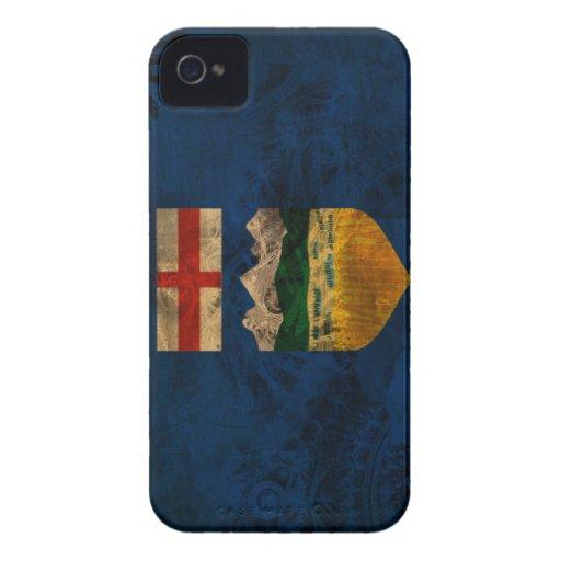 Alberta-Flagge iPhone 4 Case-Mate Hüllen