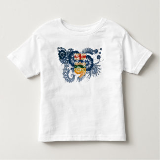 Alberta-Flagge Kleinkind T-shirt