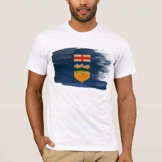 Alberta-Flaggen-T - Shirt