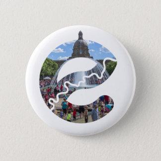 Alberta-Gesetzgebungs-Knopf Runder Button 5,7 Cm