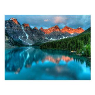 Alberta-schöne Natur Postkarte