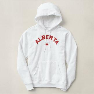 AlbertaHoodie - rotes Kanada-Ahornblatt Hoodie