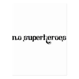 Albino-Krähe - 'keiner Superhelden Postkarte