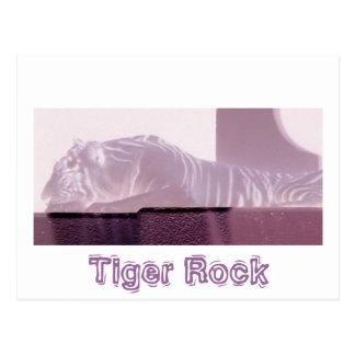 Albino-Tiger Postkarte