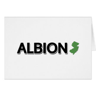 Albion, New-Jersey Karte