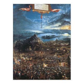 Albrecht Altdorfer der Kampf von Alexander Postkarte