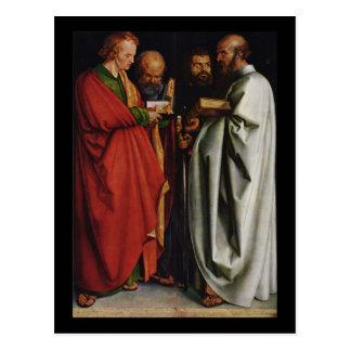 Albrecht Durer die vier Apostel Postkarte