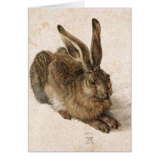 Albrecht Dürer - Junger Hase (junger Hase), 1502 Karte