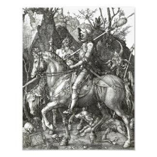 """Albrecht Durer """"Ritter-Tod und der Teufel"""" gotisch Photodrucke"""