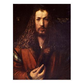 Albrecht Durer - Selbstporträt 2 Postkarte
