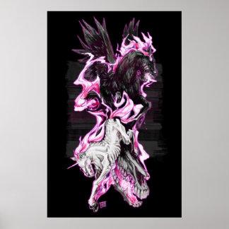 Albträume: Einhorn und Pegasus Poster