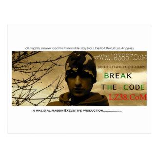 Album CoverLP19 Postkarte