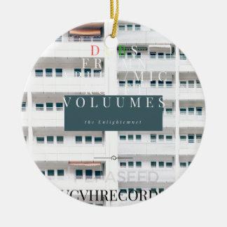 Album des Single-zehn Keramik Ornament