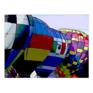 Albuquerque-Ballon-Fiesta Postkarte