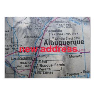 Albuquerque haben wir neue Adressen-Mitteilung 12,7 X 17,8 Cm Einladungskarte