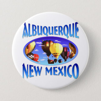 Albuquerque-New Mexiko Runder Button 7,6 Cm