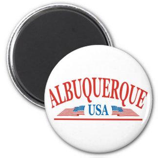 Albuquerque-New Mexiko Runder Magnet 5,7 Cm
