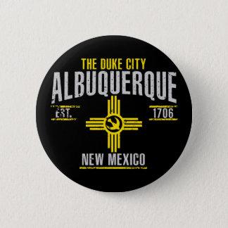 Albuquerque Runder Button 5,1 Cm