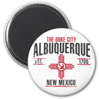 Albuquerque Runder Magnet 5,1 Cm
