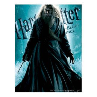 Albus Dumbledore HPE6 1 Postkarte