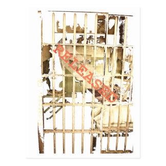Alcatraz, freigegeben postkarte