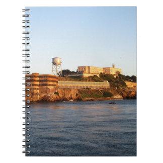 Alcatraz Gefängnis Spiral Notizblock