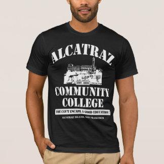 ALCATRAZ GEMEINSCHAFTSUni #3 WEISS T-Shirt