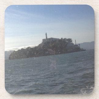 Alcatraz harter PlastikUntersetzer Untersetzer